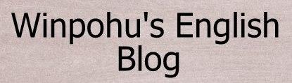 winpohu'nun ingilizce blogu